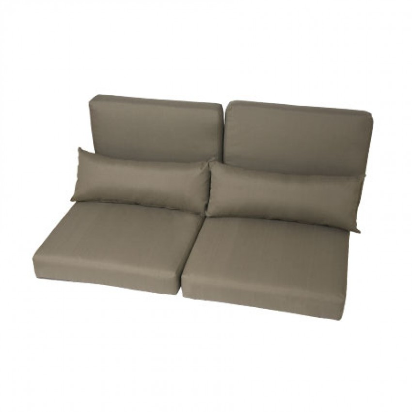 Jabron sofa available from verdon grey the luxury outdoor for Garden furniture cushions