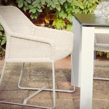 alexis table & estelle chair